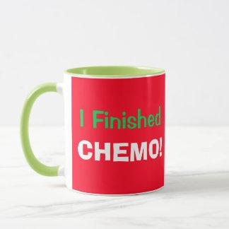 Taza ¡Hooray acabé Chemo!