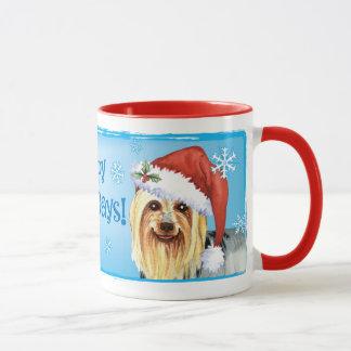 Taza Howlidays feliz Terrier sedoso