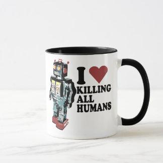 Taza I corazón que mata a todos los seres humanos