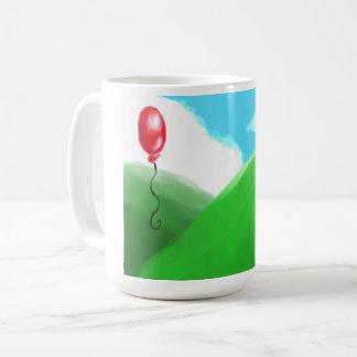 Taza ideal de la tierra del globo