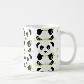 Taza infantil con dibujo de oso panda