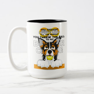 Taza infinita del border collie