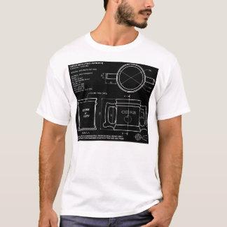 Taza inglesa tradicional de la sidra camiseta