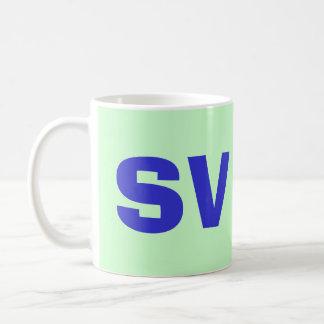 Taza intrépida del SV El Salvador