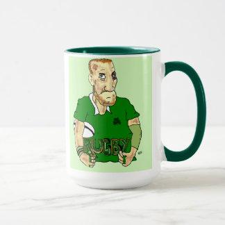 taza irlandesa del rugbi
