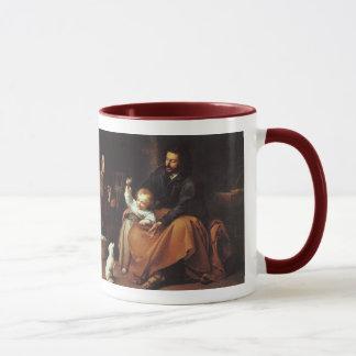 Taza Jesús con el gorrión - Murillo,… la palabra era…