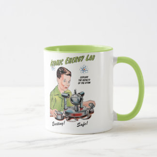 Taza Juguete del laboratorio de la energía atómica del