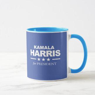 Taza Kamala Harris para el presidente - blanco -