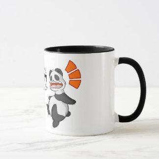 """Taza Kanji/taza del """"café"""" de la panda"""