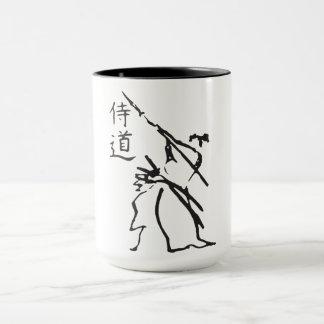 Taza Karate y carácter