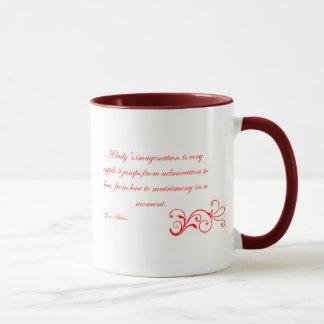 Taza La colección de Austen - Imagination de señora