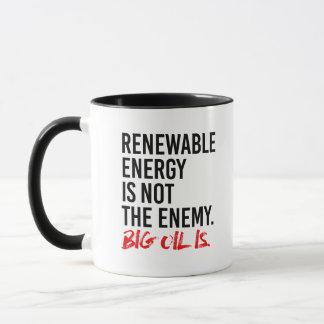 Taza La ENERGÍA RENOVABLE NO ES el ENEMIGO - -