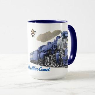 Taza La locomotora de vapor azul del cometa