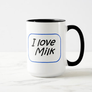 Taza - leche del amor de I
