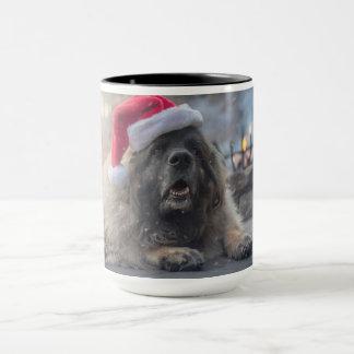 Taza Leonberger Santa
