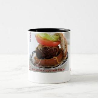 Taza libre de la hamburguesa de la parrilla del gl