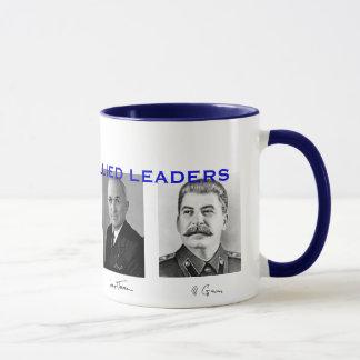 Taza Líderes aliados Mug* de la Segunda Guerra Mundial