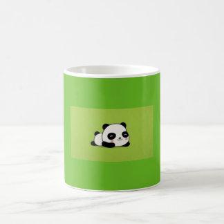 Taza linda de la panda de Kawii del dibujo animado