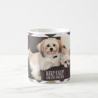Taza linda de los perritos