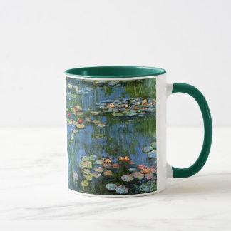 Taza Lirios de agua de Monet