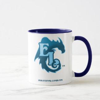 Taza logotipo-Azul del EL