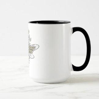 Taza Logotipo de la abeja reina de la Mujer Maravilla