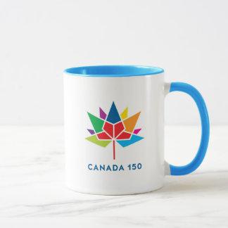 Taza Logotipo del funcionario de Canadá 150 -
