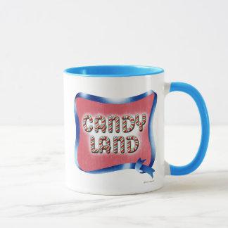 Taza Logotipo envejecido tierra del caramelo