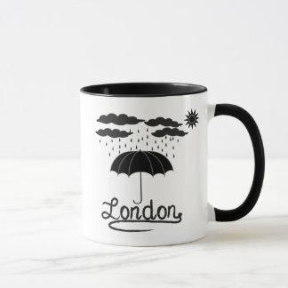Taza Londres el | debajo de un paraguas