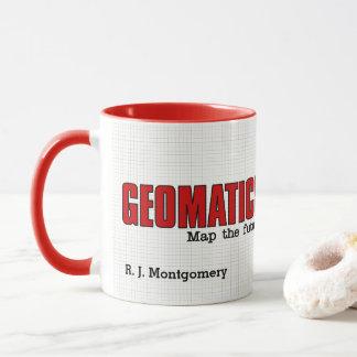 Taza Los ingenieros divertidos de Geomatics trazan el
