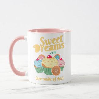 Taza Los sueños dulces se hacen… de magdalenas y de