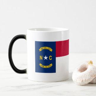 Taza Mágica Bandera de Carolina del Norte