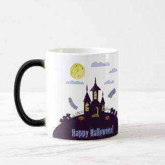 Taza Mágica Casa encantada de Halloween