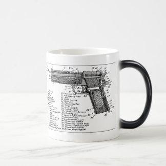 Taza Mágica Diagrama del arma