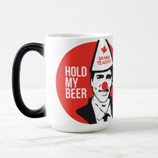 Taza Mágica El asimiento de Trudeau Canadá mi payaso de la