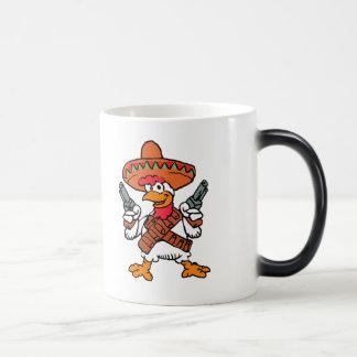 Taza Mágica Gallo mexicano