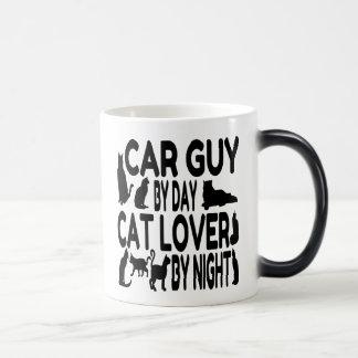 Taza Mágica Individuo del coche del amante del gato