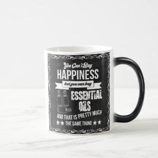 Taza Mágica La compra de aceites esenciales es felicidad