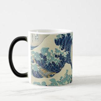 Taza Mágica La gran onda de Kanagawa