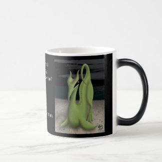 Taza Mágica Monstruo del café