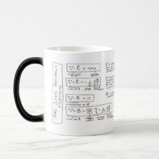 Taza Mágica Mug Maxwell's Equations