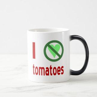 Taza Mágica Odio los tomates