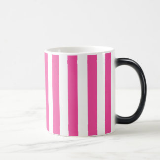 Taza Mágica Rayas verticales rosadas