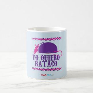 Taza Mágica Yo Quiero Rataco