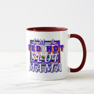 Taza Mamá caliente Mug de la ranura