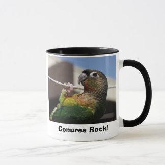Taza ¡mars1, roca de Conures!