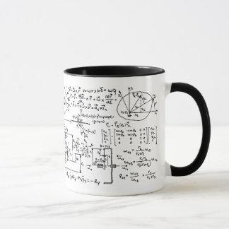 Taza Matemáticas Geeky de la matemáticas
