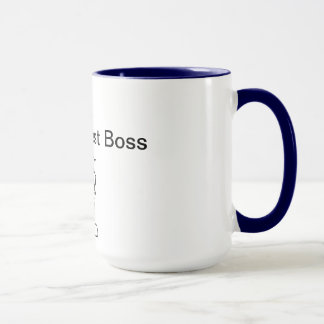 Taza Mejor Boss del mundo 2do