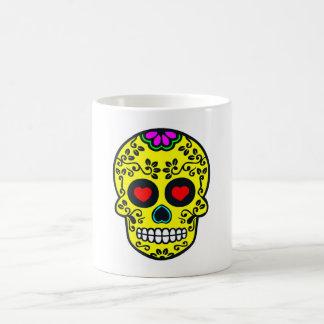 taza mexicana del cráneo