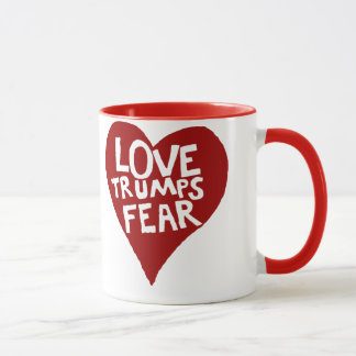 Taza Miedo de los triunfos del amor